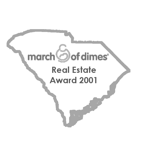 South Carolina March of Dimes Real Estate Award 2001