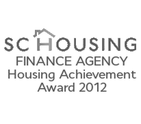 SC Housing Finance Agency Achievement Award 2012
